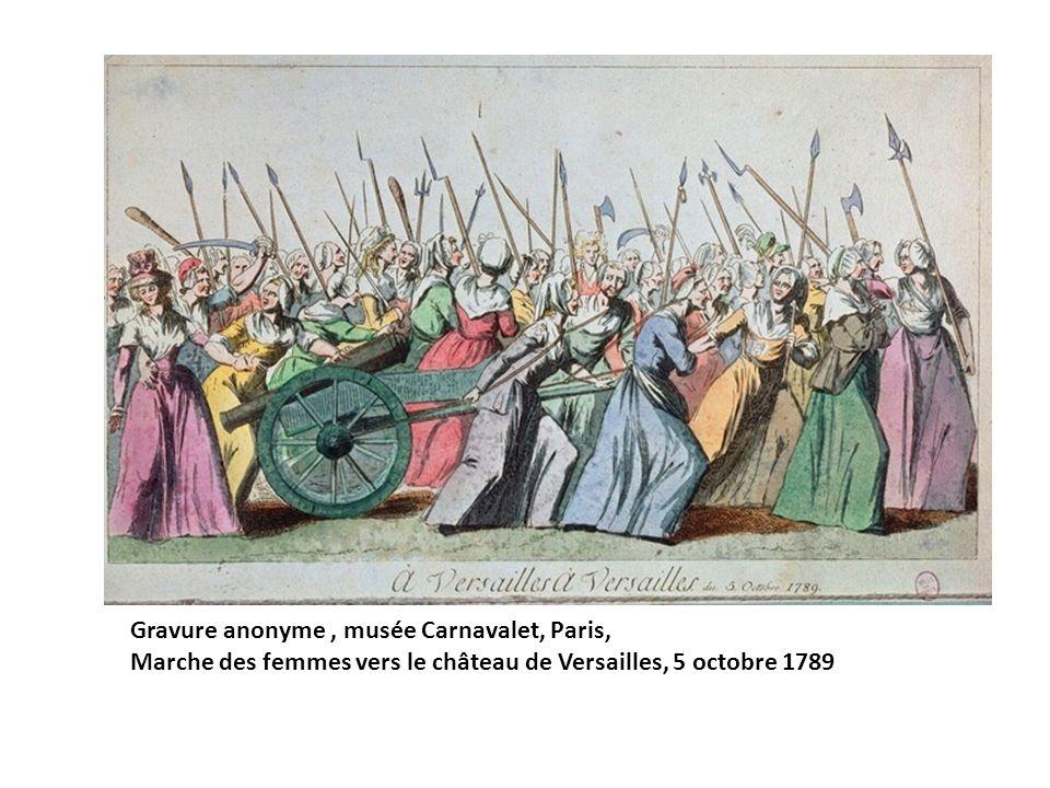 Gravure anonyme , musée Carnavalet, Paris,