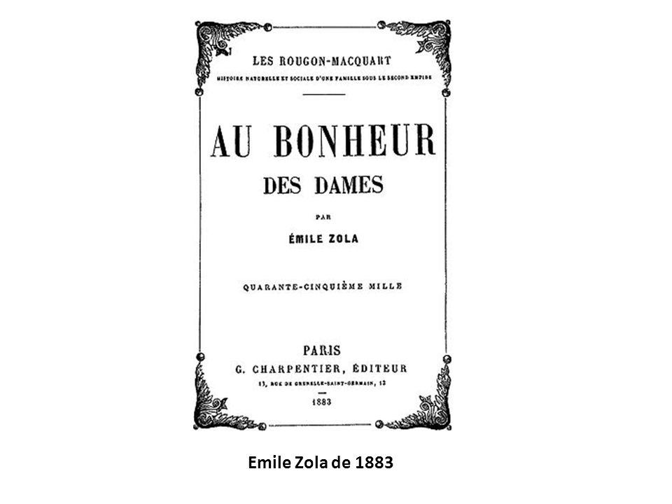 Emile Zola de 1883
