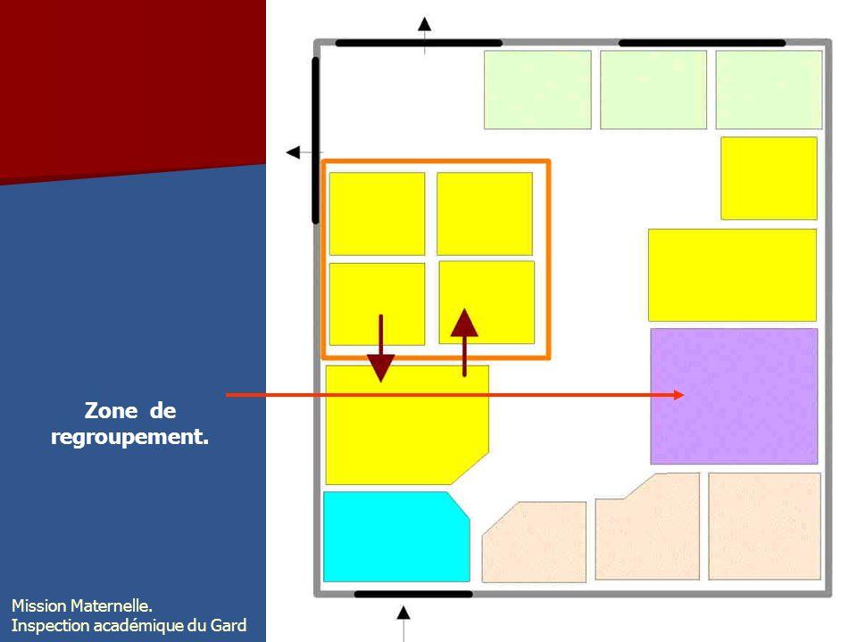 Zone de regroupement. Mission Maternelle.