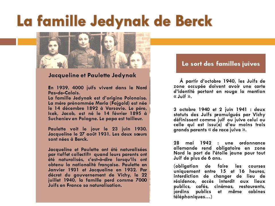 La famille Jedynak de Berck
