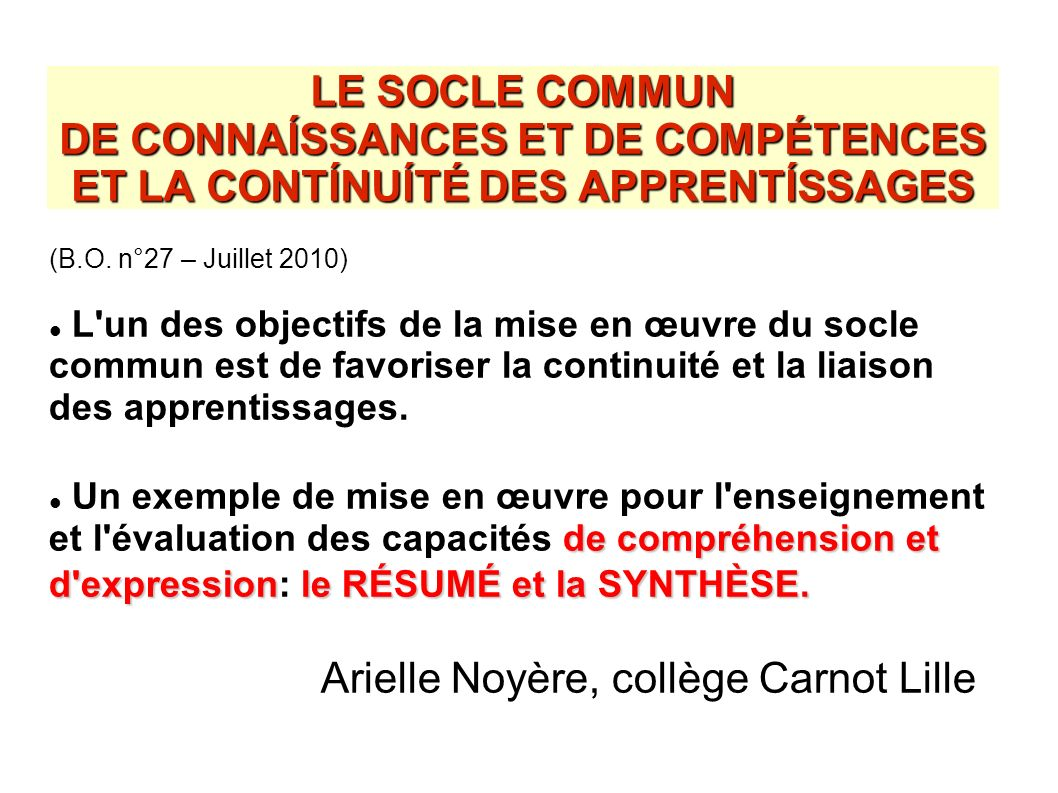 Arielle Noyère, collège Carnot Lille