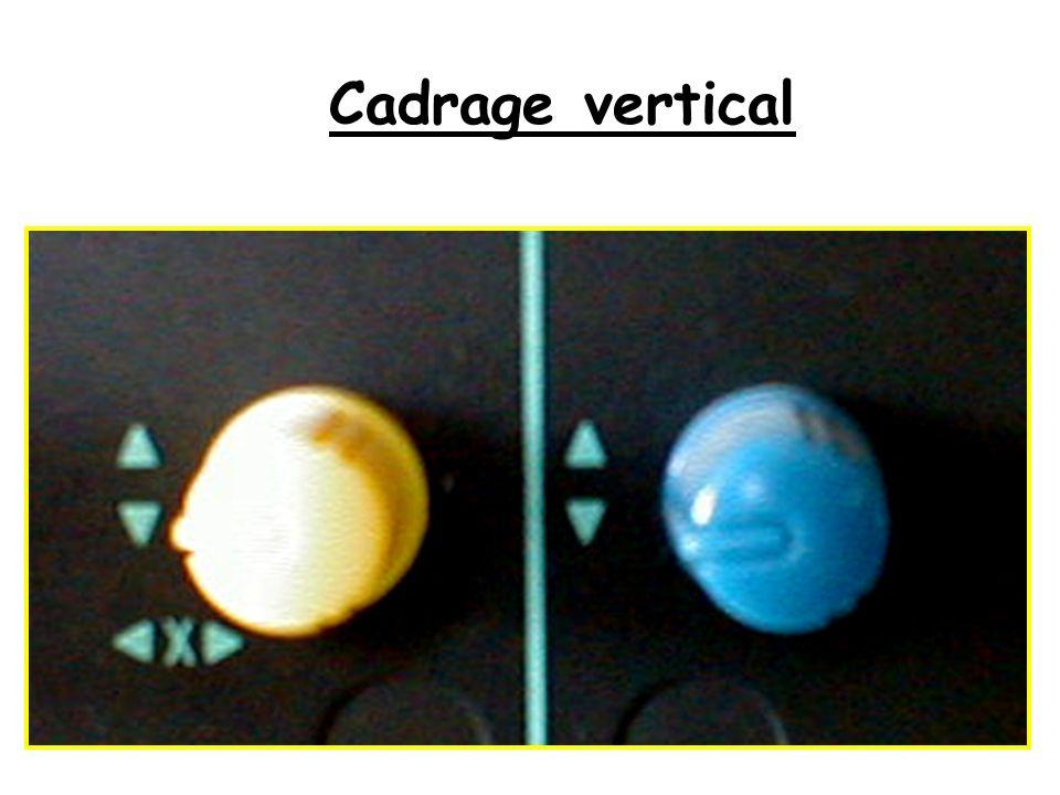 Cadrage vertical