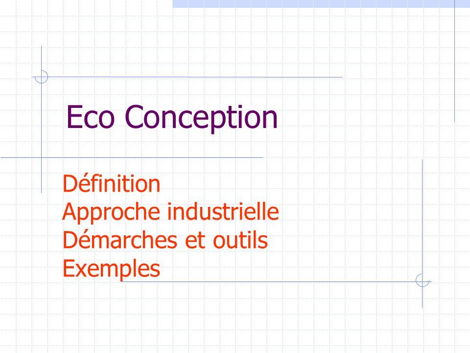 Définition Approche industrielle Démarches et outils Exemples