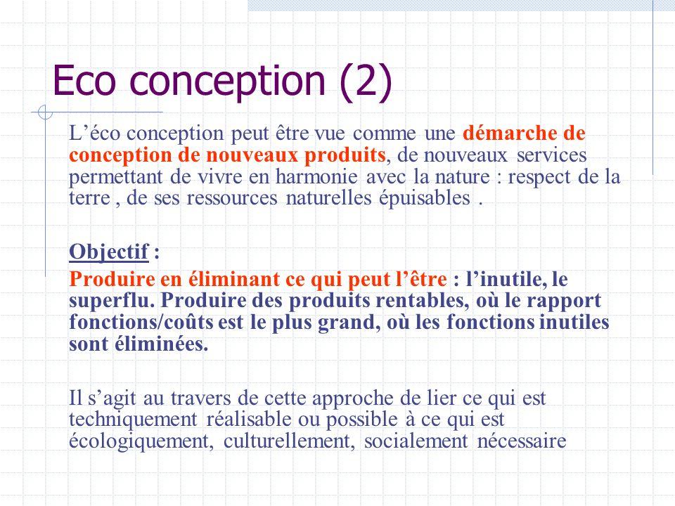 Eco conception (2)