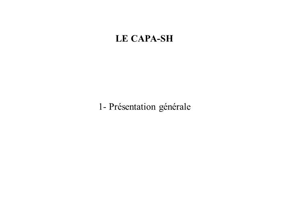 1- Présentation générale