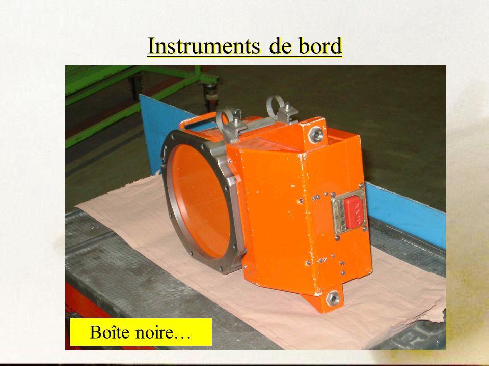 Instruments de bord Boîte noire…
