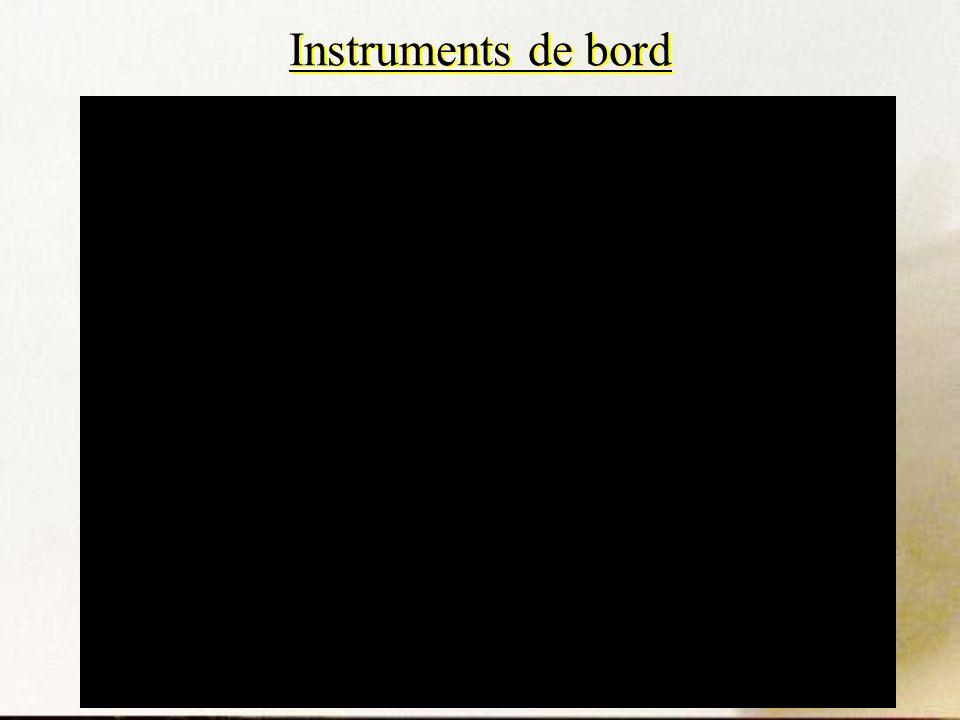 Instruments de bord