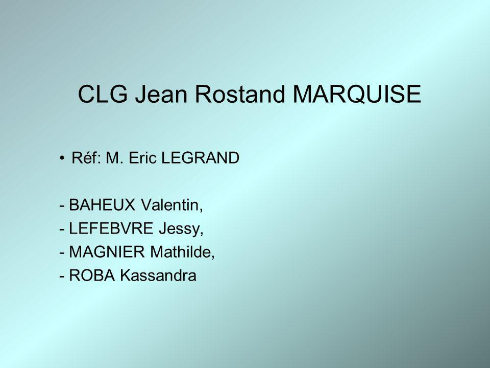 CLG Jean Rostand MARQUISE