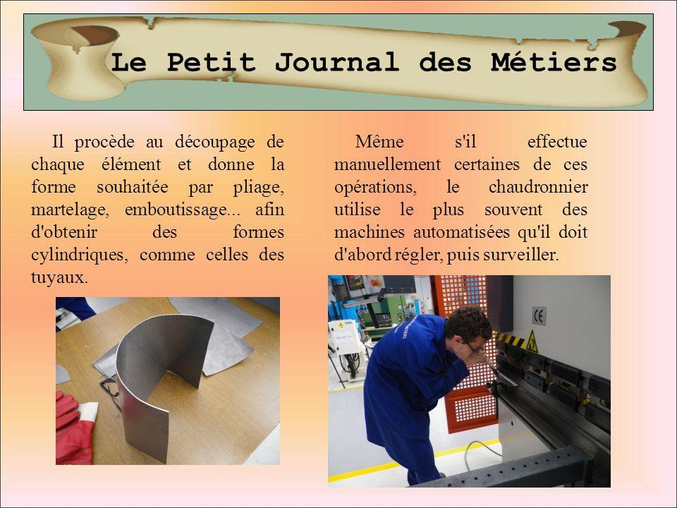 Le Petit Journal des Métiers