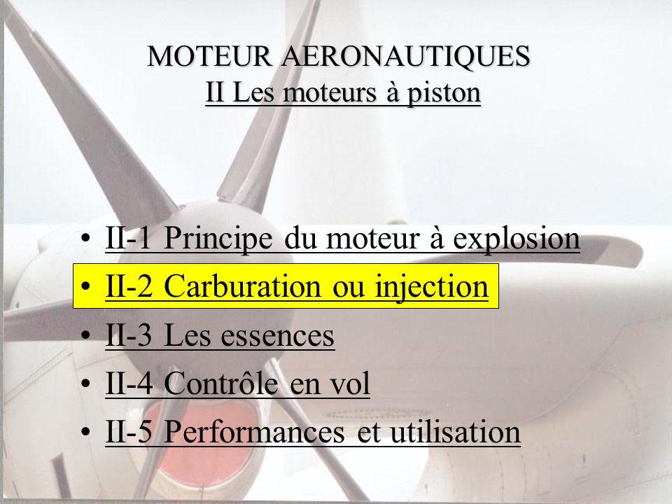 MOTEUR AERONAUTIQUES II Les moteurs à piston