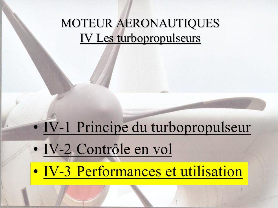 MOTEUR AERONAUTIQUES IV Les turbopropulseurs