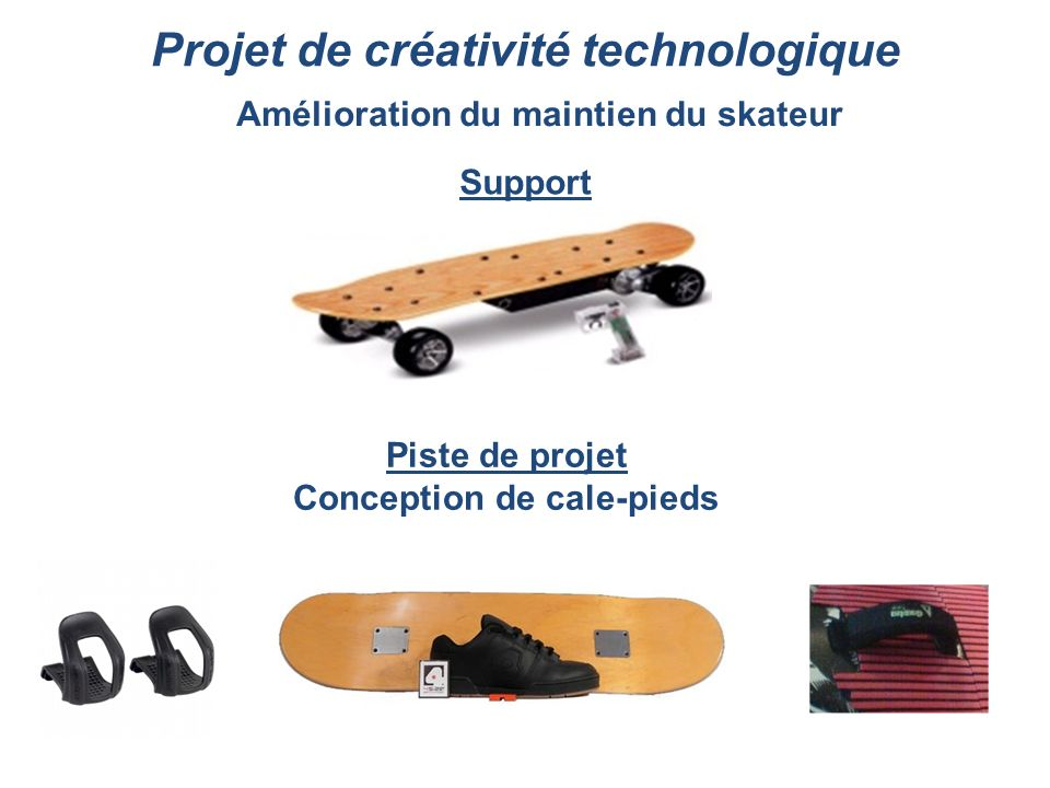 Projet de créativité technologique
