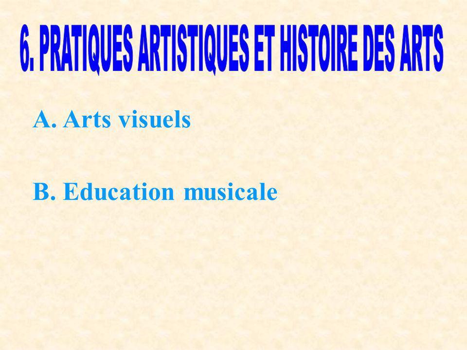 6. PRATIQUES ARTISTIQUES ET HISTOIRE DES ARTS