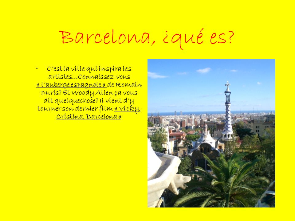 Barcelona, ¿qué es