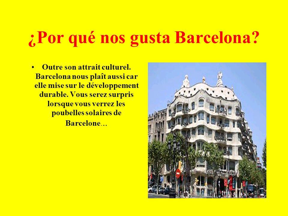 ¿Por qué nos gusta Barcelona