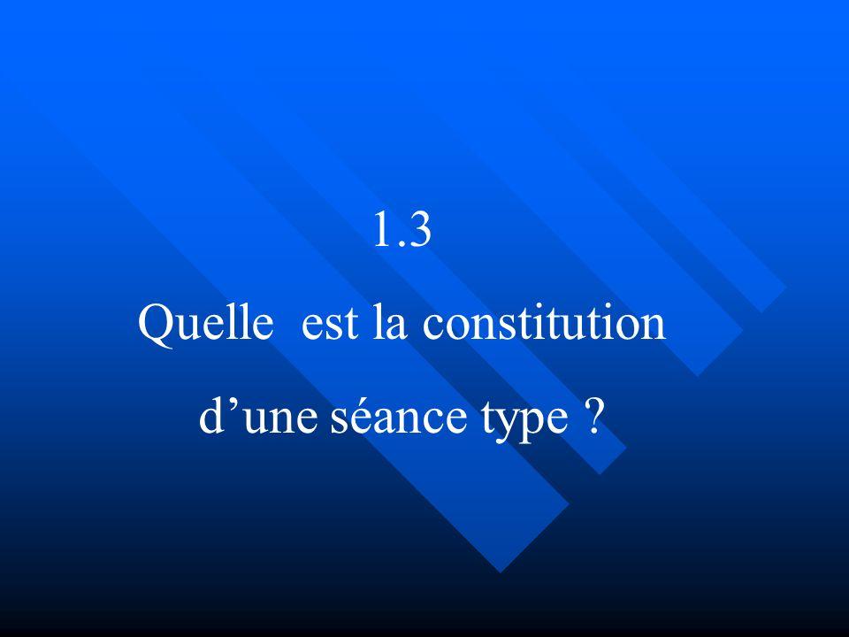 Quelle est la constitution