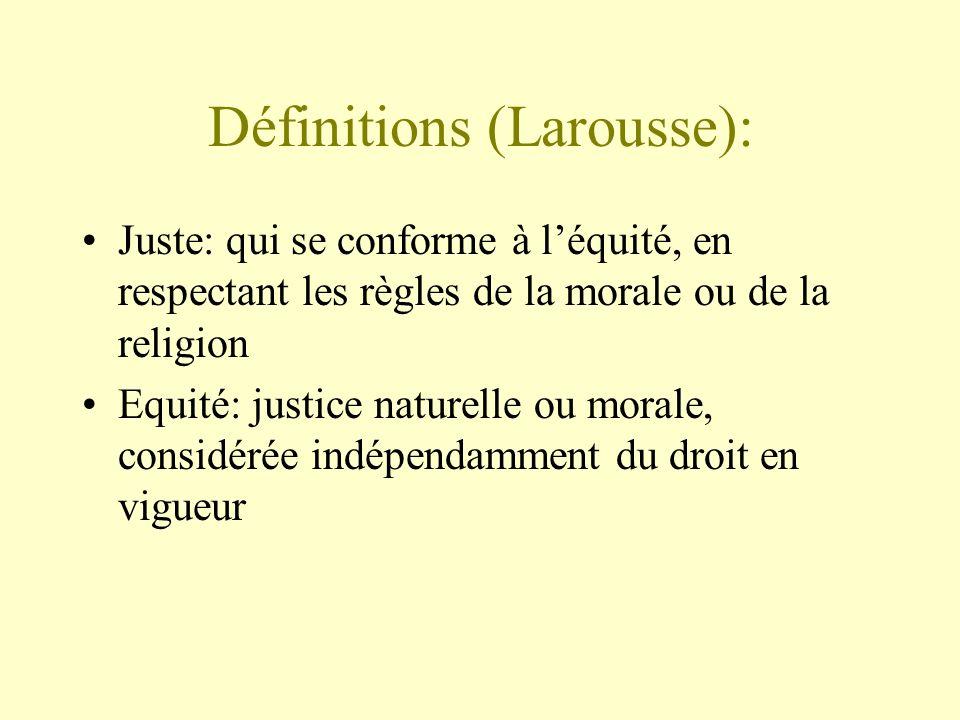 Définitions (Larousse):