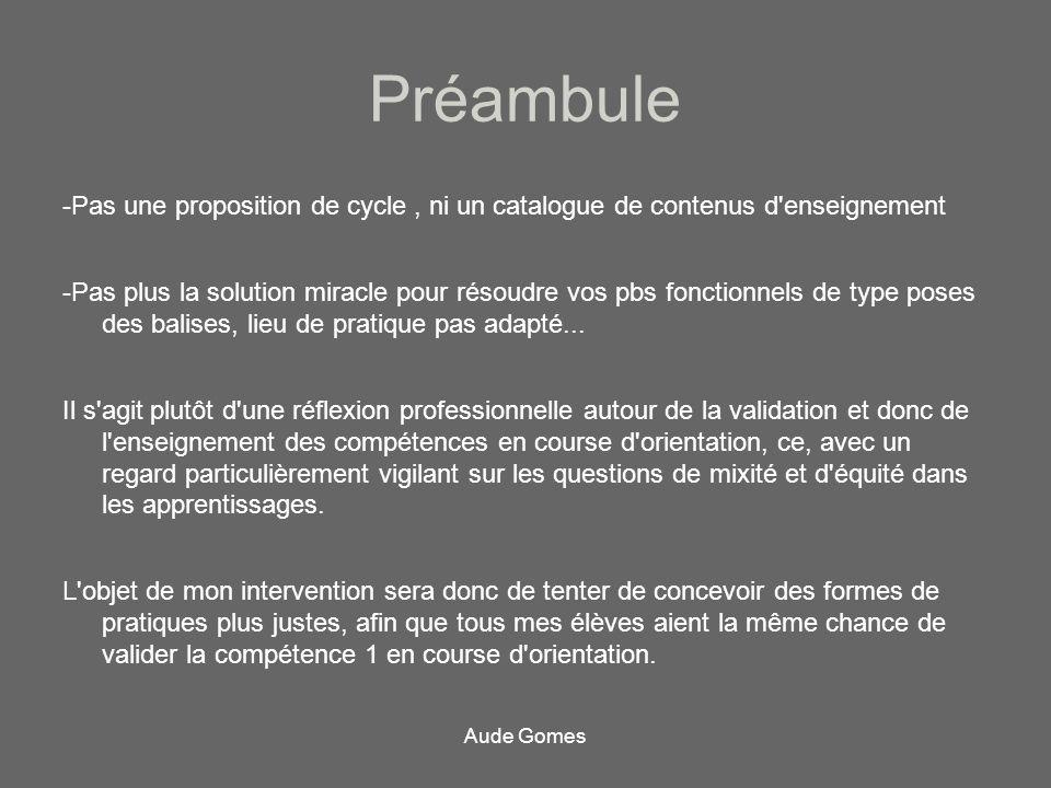Préambule -Pas une proposition de cycle , ni un catalogue de contenus d enseignement.