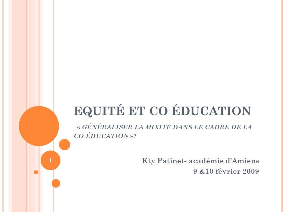 Kty Patinet- académie d'Amiens 9 &10 février 2009