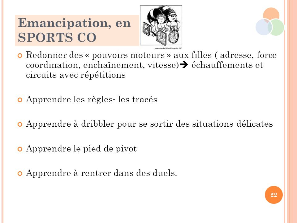 Emancipation, en SPORTS CO