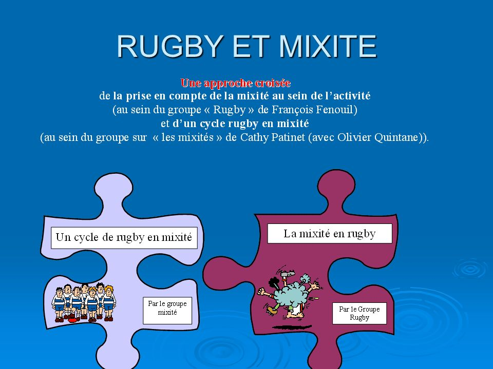 RUGBY ET MIXITE