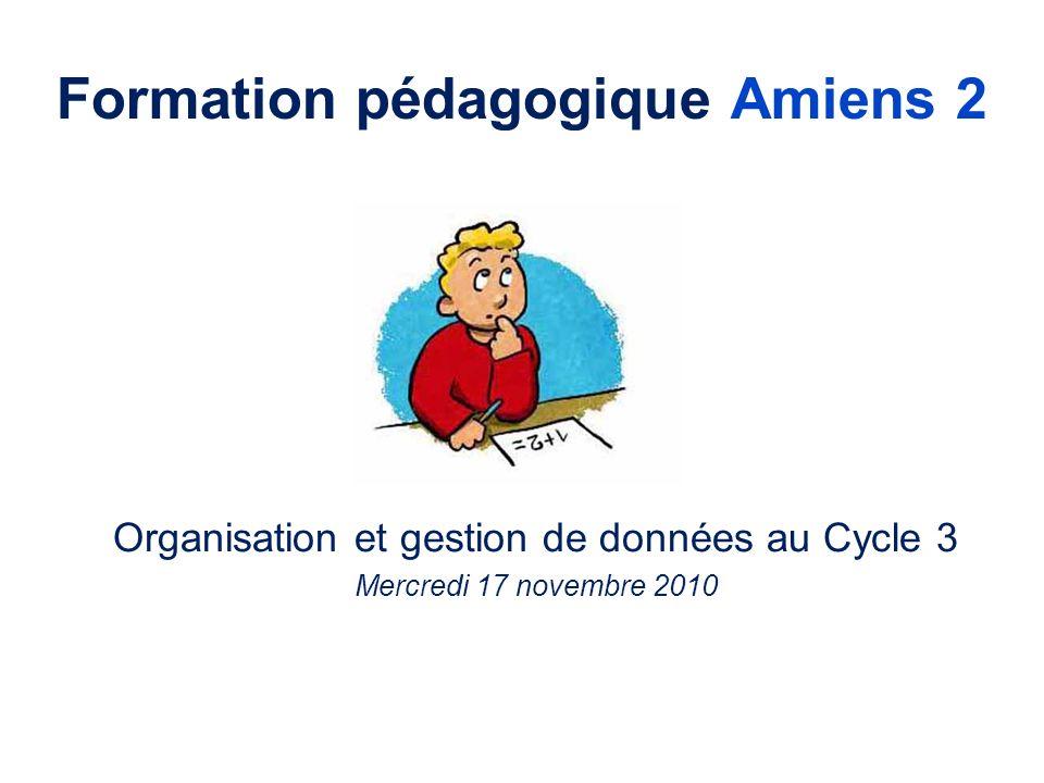 Formation pédagogique Amiens 2