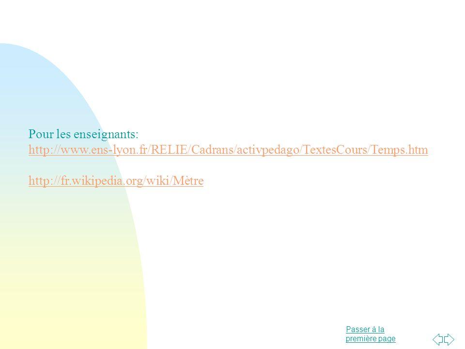 Pour les enseignants: http://www.ens-lyon.fr/RELIE/Cadrans/activpedago/TextesCours/Temps.htm.
