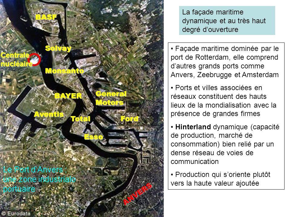 Le Port d'Anvers : une zone industrialo portuaire