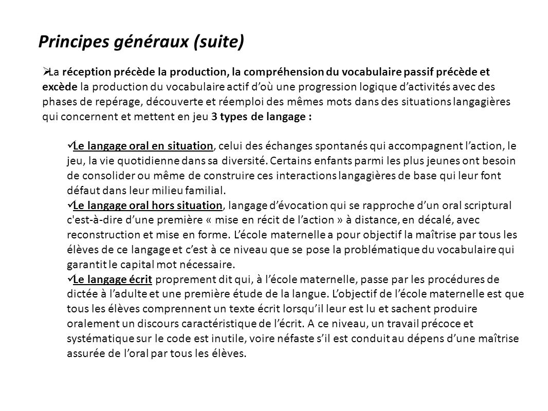 vocabulaire et cat u00e9gorisation