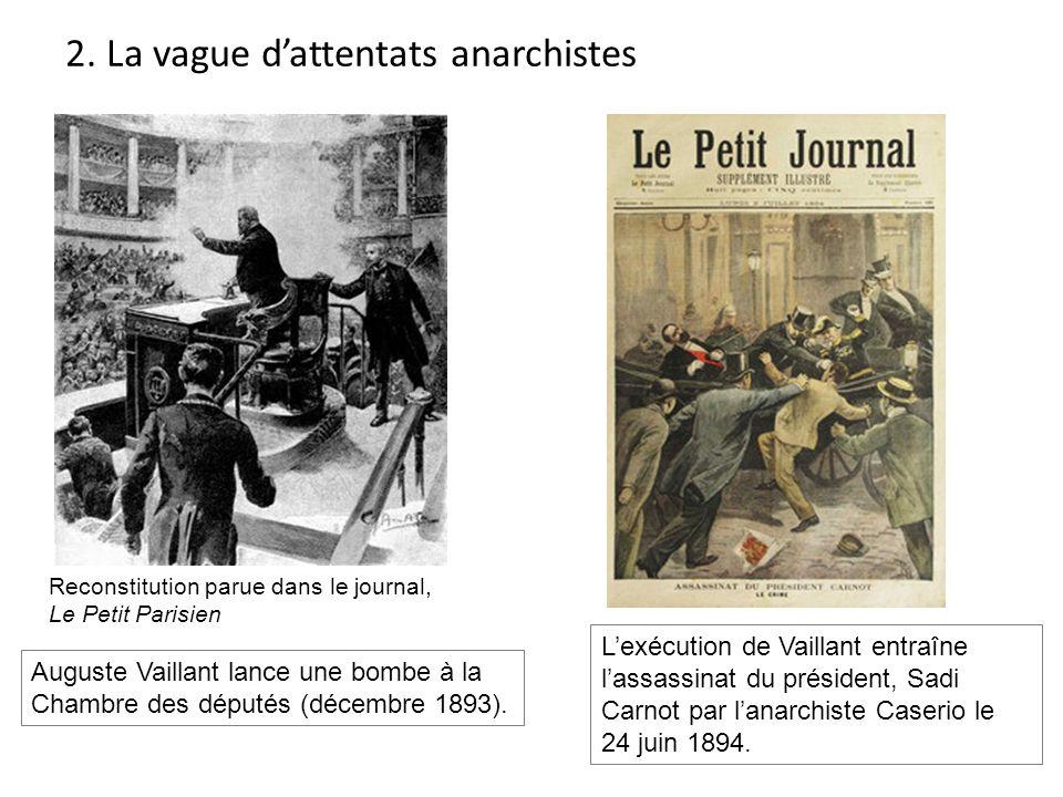 2. La vague d'attentats anarchistes