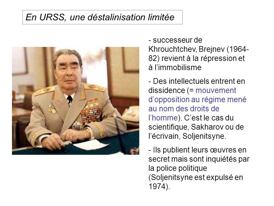 En URSS, une déstalinisation limitée