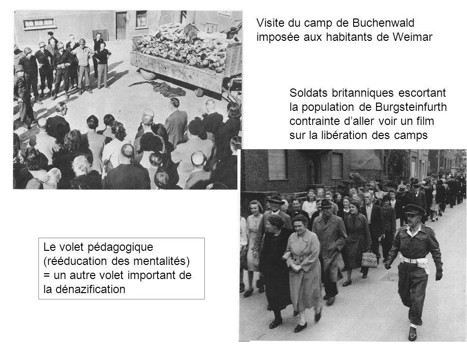 Visite du camp de Buchenwald imposée aux habitants de Weimar
