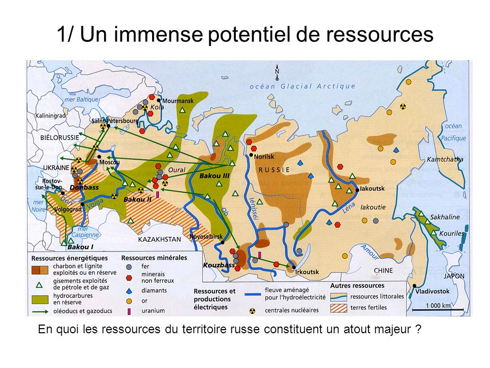 1/ Un immense potentiel de ressources