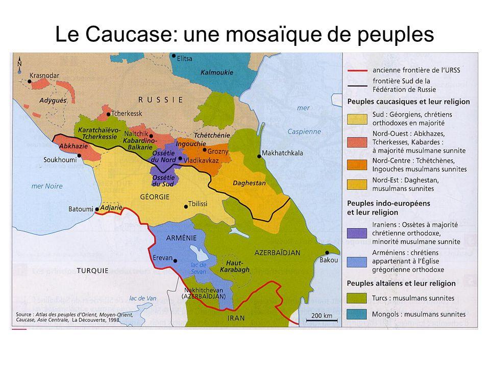 Le Caucase: une mosaïque de peuples