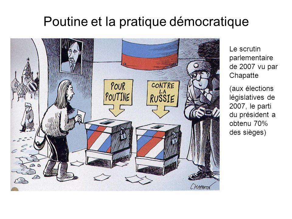 Poutine et la pratique démocratique