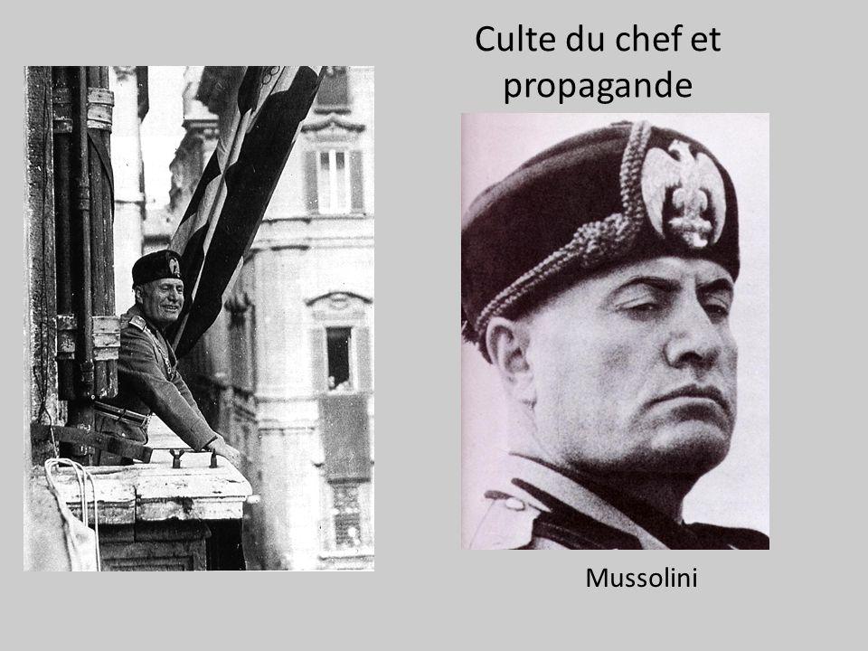 Culte du chef et propagande