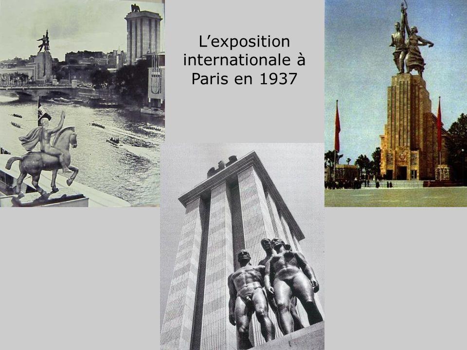 L'exposition internationale à Paris en 1937