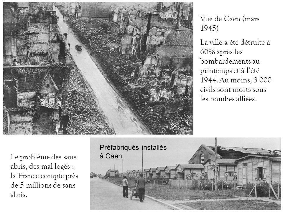 Vue de Caen (mars 1945)