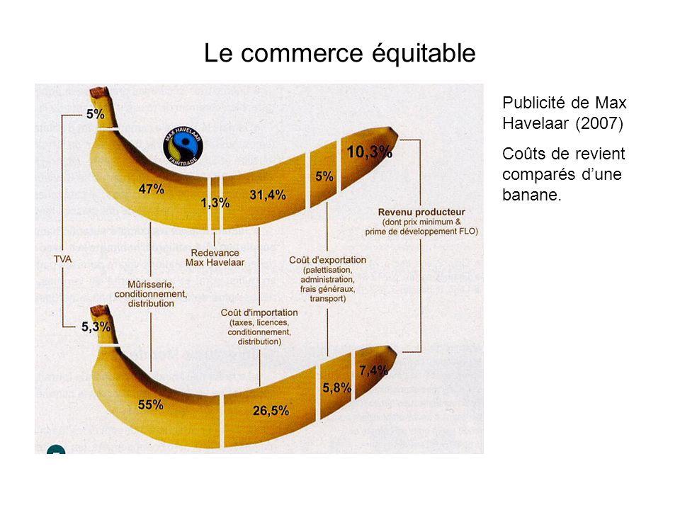 Le commerce équitable Publicité de Max Havelaar (2007)