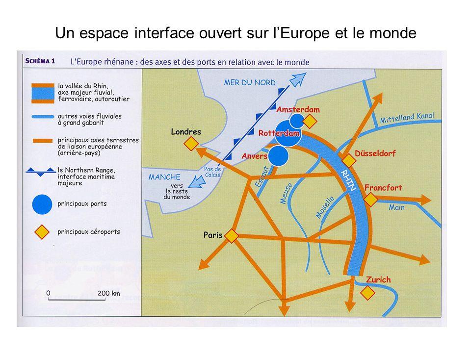 Un espace interface ouvert sur l'Europe et le monde