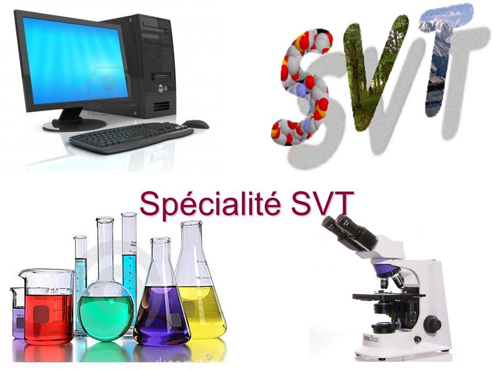 Spécialité SVT