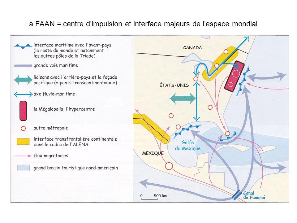 La FAAN = centre d'impulsion et interface majeurs de l'espace mondial
