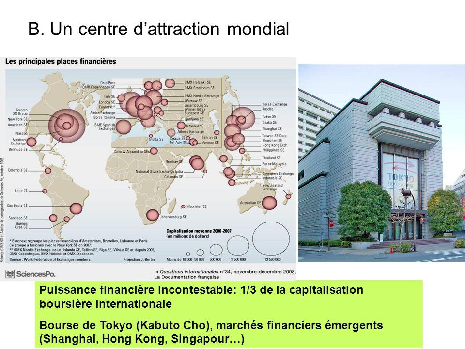 B. Un centre d'attraction mondial