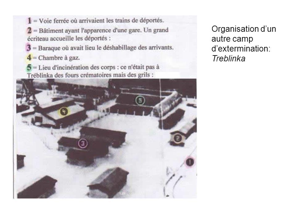 Organisation d'un autre camp d'extermination: Treblinka