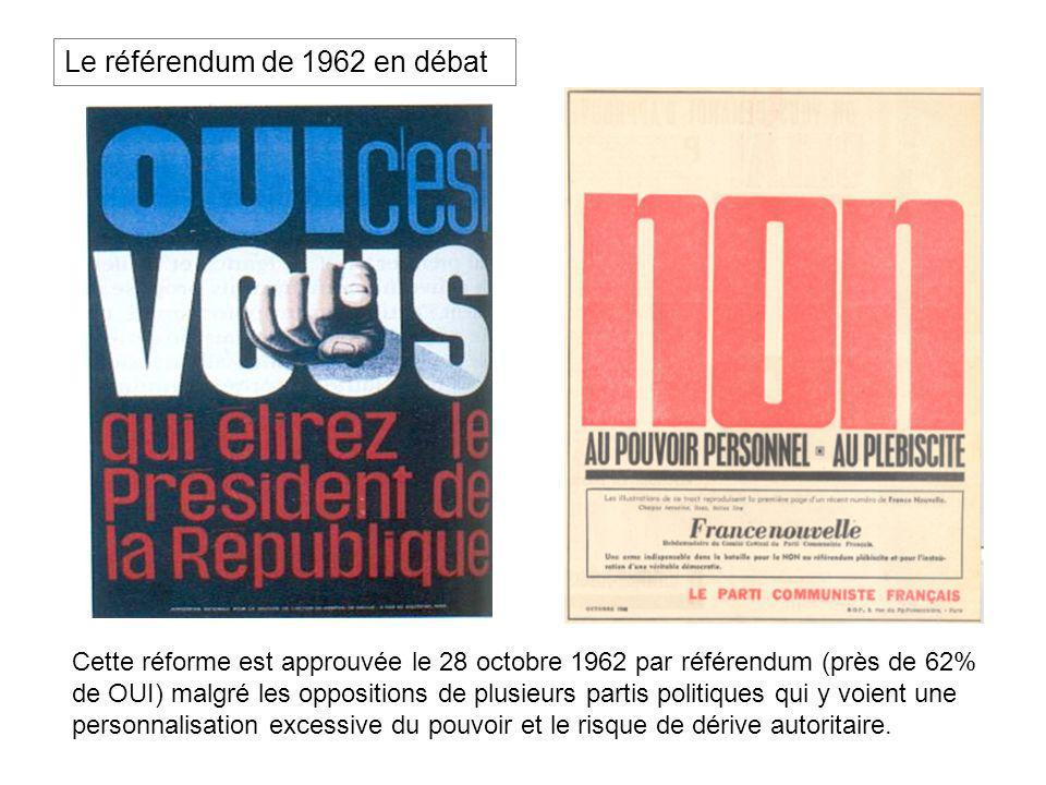 Le référendum de 1962 en débat