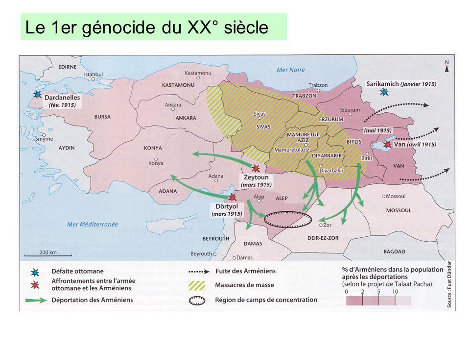 Le 1er génocide du XX° siècle