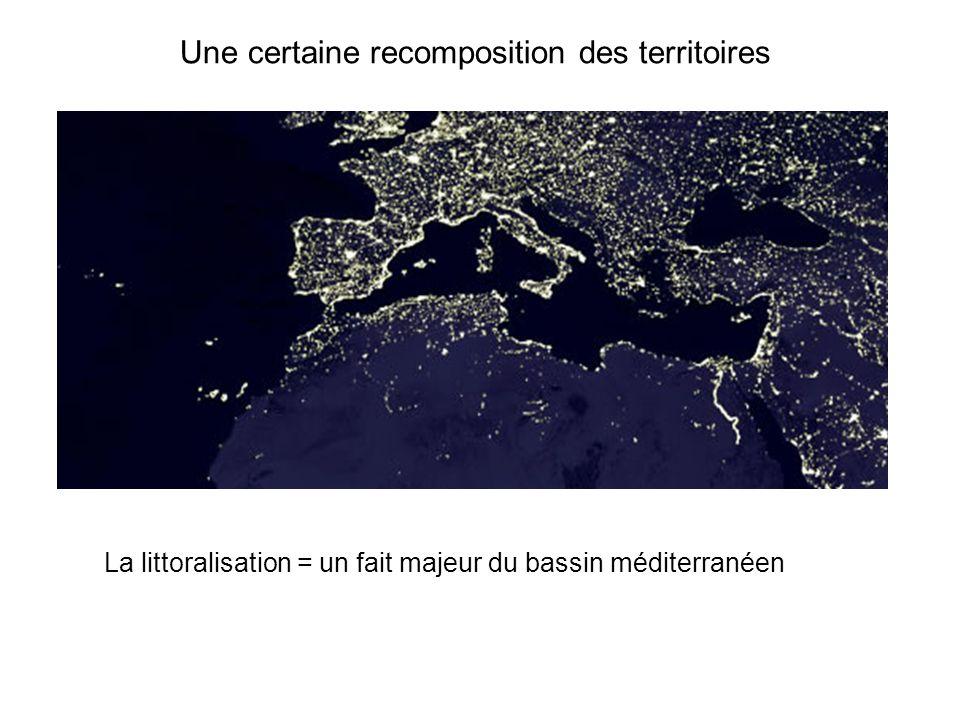 Une certaine recomposition des territoires