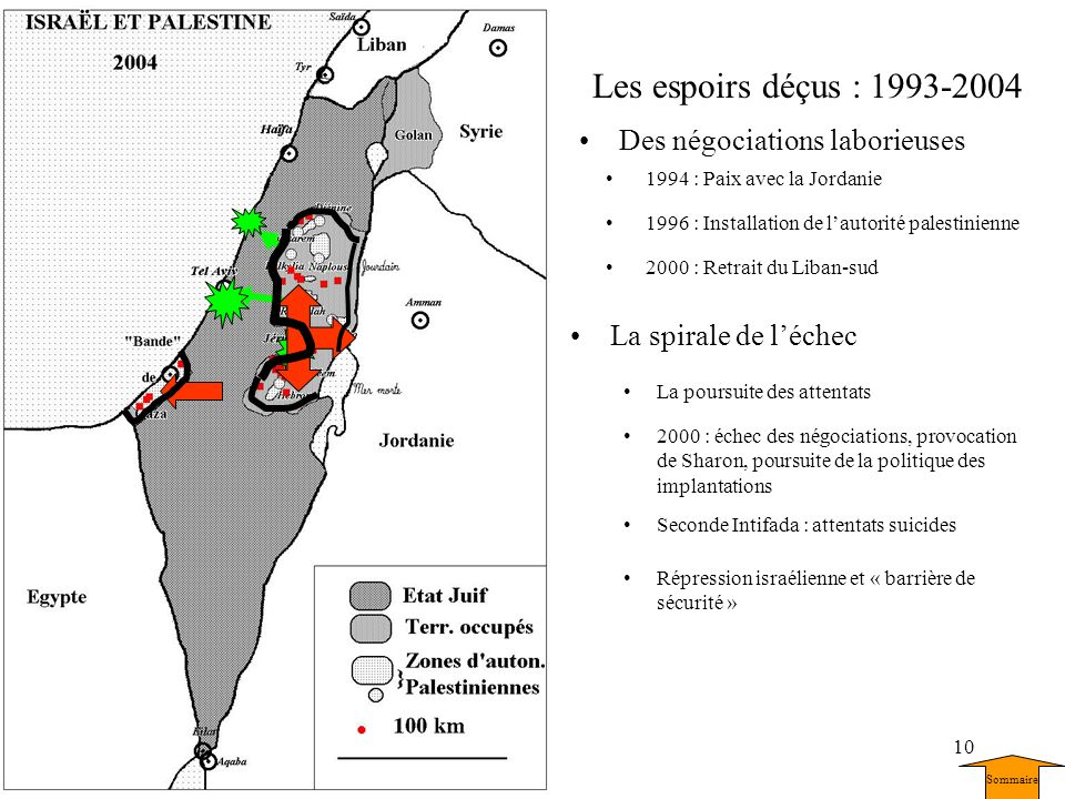 Les espoirs déçus : 1993-2004 Des négociations laborieuses