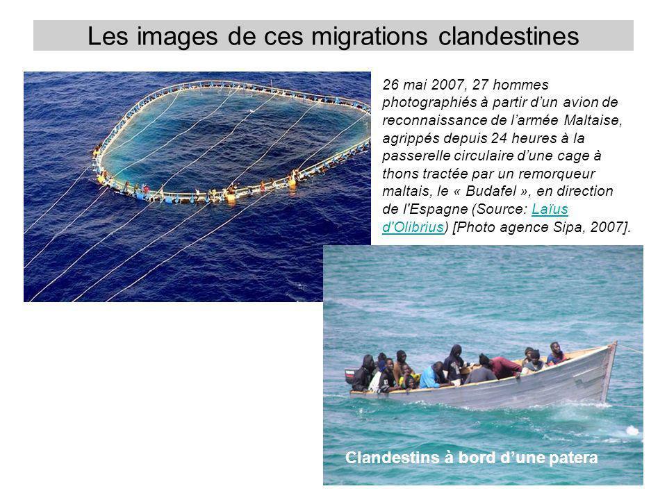 Les images de ces migrations clandestines