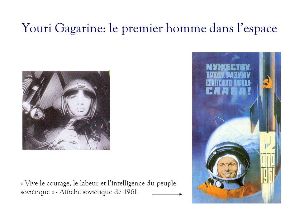 Youri Gagarine: le premier homme dans l'espace